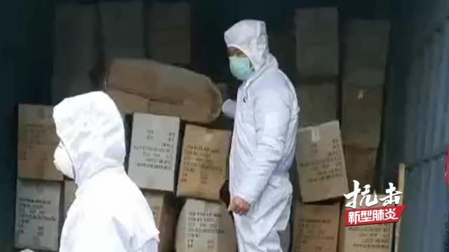东北大哥为武汉协调捐献物资运输 春节不放假一睁眼就回信息