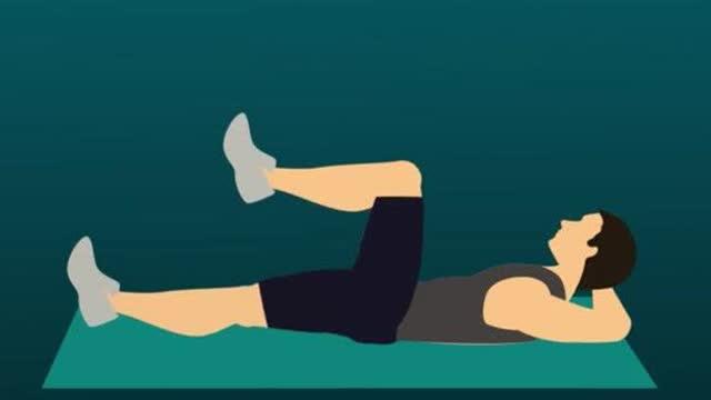 人体最重要的腹部核心力量,瘦腹减肚子练这8个动作就够了!