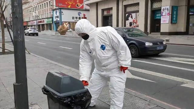 防止废弃口罩二次污染 长春环卫这样无害化处理