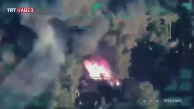 叙利亚伊德利卜农村,土耳其军队无人机袭击袭击政府军民兵