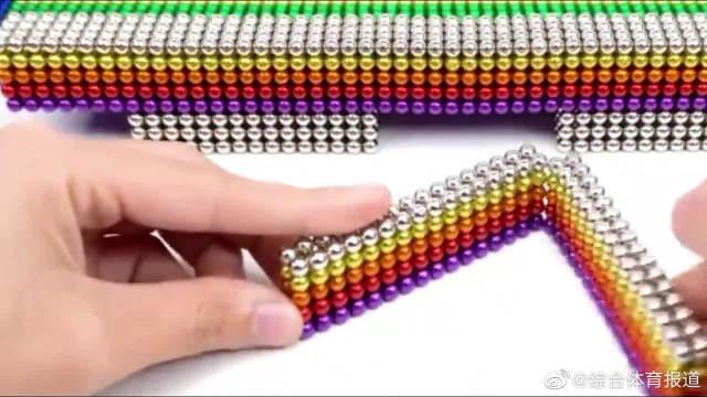 磁力球搭建奥林匹克体育场