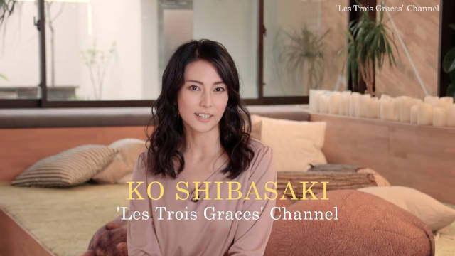 女演员柴崎幸在油管上设立了个人频道