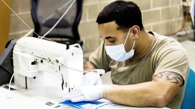 美特种兵做口罩!美国陆军特种部队变缝纫工,开始生产医用口罩!