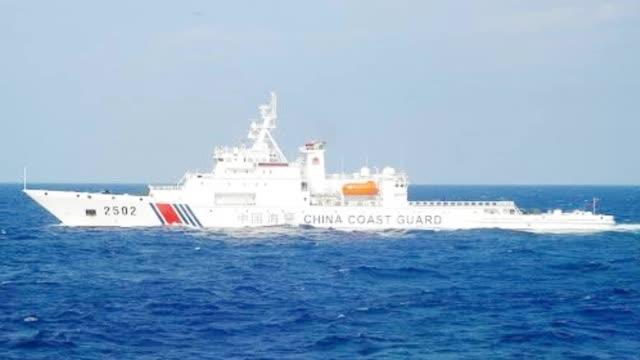 巡航钓鱼岛!中国海警2502舰艇编队在我钓鱼岛领海巡航