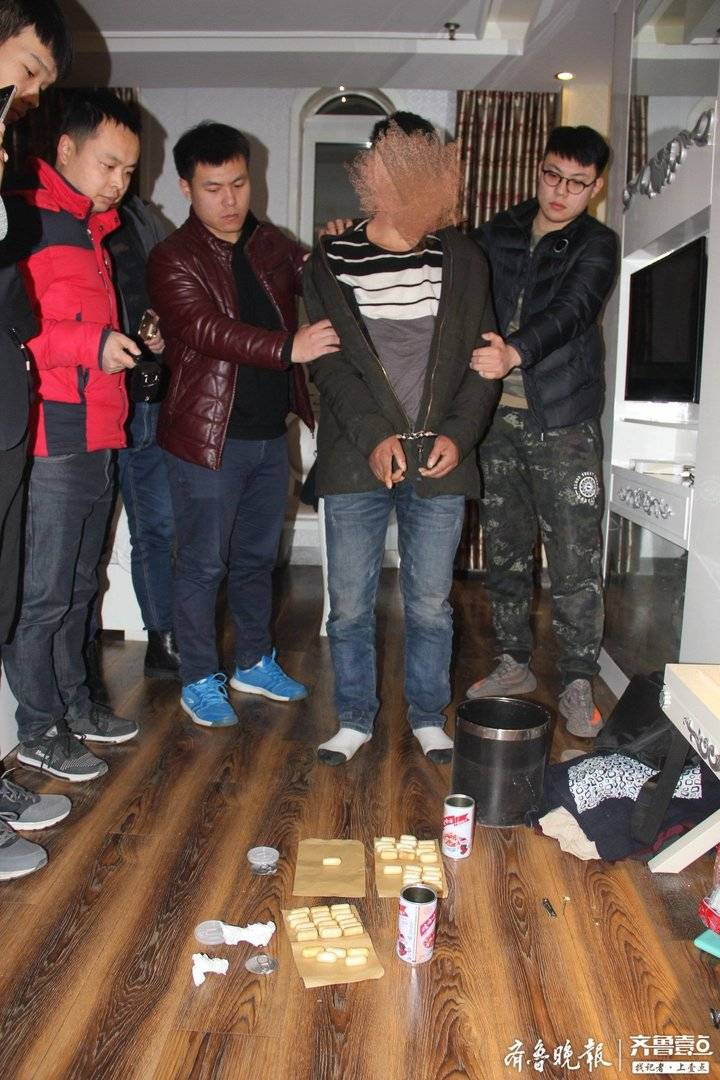 他吞下300多克海洛因从缅甸运毒来山东,在济南被抓