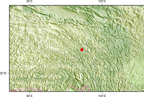 8月14日11时10分青海玉树州玉树市发生3.4级地震