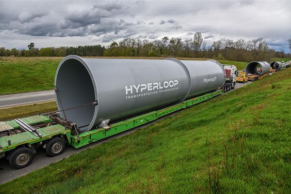 超级高铁全尺寸管道 本文图片均由HTT公司 提供