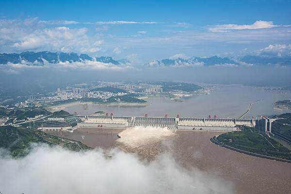 长江防总:2号洪水平稳通过三峡库区