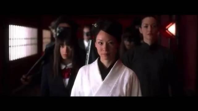 刘玉玲在《杀死比尔》中的黑帮大佬太炫酷了!真的演的很不错!