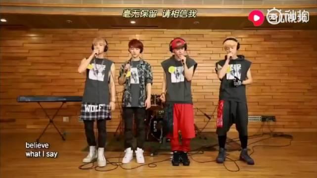 EXO四位唱将伯贤,D.O,CHEN,鹿晗翻唱英文经典《Open Arms》!
