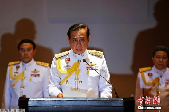 資料圖:泰國總理巴育。