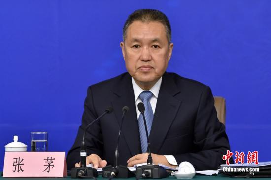 国家工商行政管理总局局长张茅。 中新社记者 金硕 摄