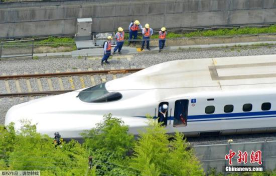 资料图:日本新干线列车。