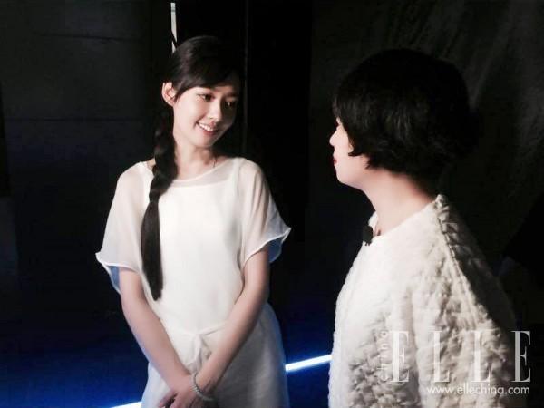 郭碧婷与李薇的合作十分愉快