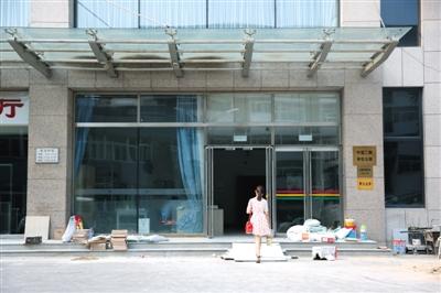 昨日,中国传媒大学中蓝公寓二期,被害者周云露生前住的宿舍楼。新京报记者 卢淑婵 摄