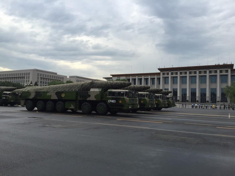 中国阅兵警告美国?日本:中国勿总关注不幸历史