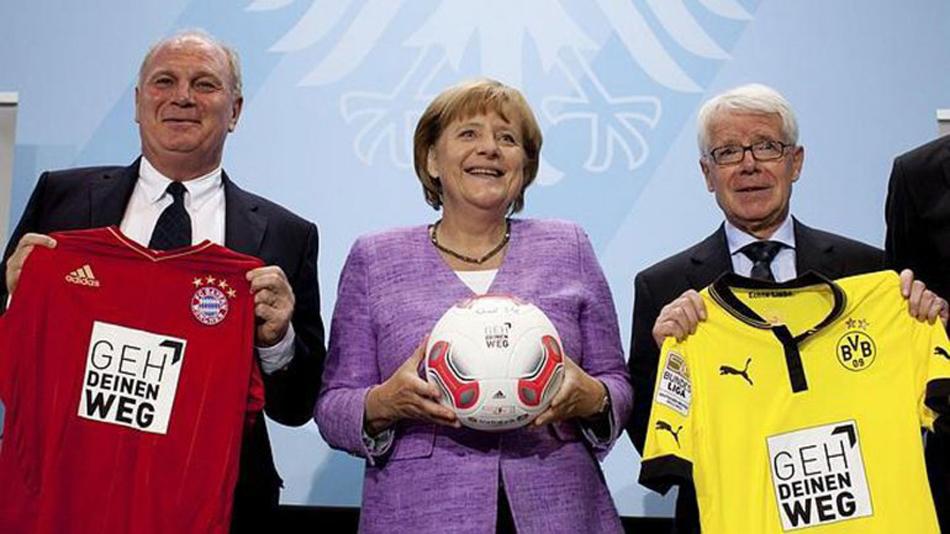德国足球界捐助难民 36支球队队服将印欢迎难