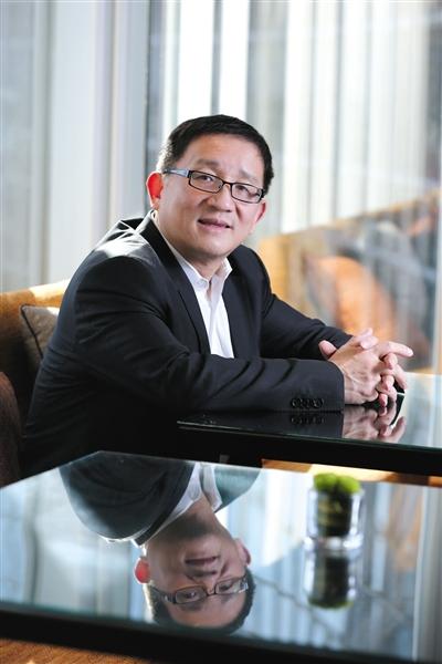 布鲁金斯学会约翰·桑顿中国中心主任李成。新京报记者 侯少卿 摄