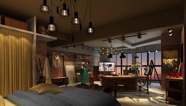 【设计师茶楼】完美电视墙:课堂风格与空间比郑州整体装修设计公司图片