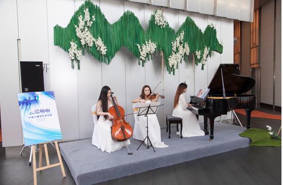 音乐会进写字楼,商务公共空间的艺术苏醒