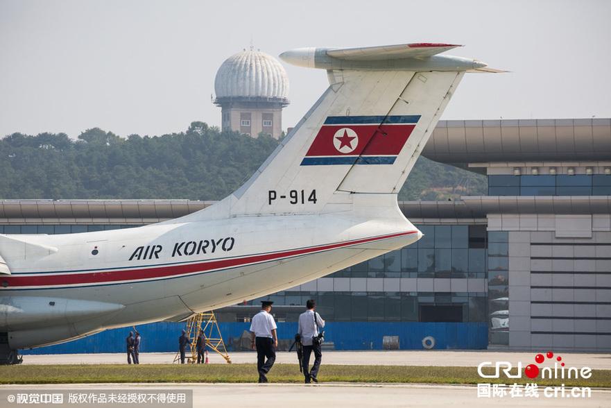 组图:中国摄影师体验高丽航空飞行 揭秘朝鲜飞机内景