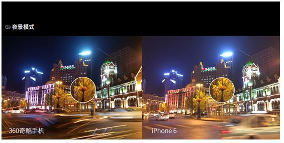 专业摄影师晒出360奇酷手机VS iPhone6拍照对