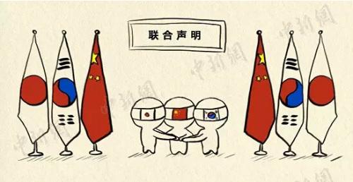 中日韩闹三国演义