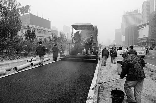 太原市学府街即将全线通车