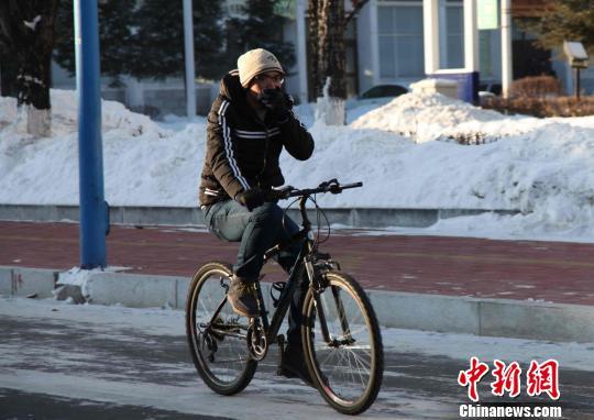 """""""中国最冷小镇""""大兴安岭呼中最低温-38.6℃"""