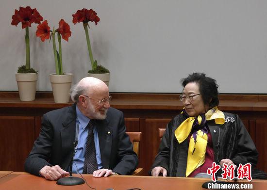 """屠呦呦列席诺奖记者会三提""""事情尚了局结"""""""