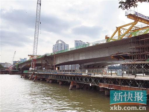 最终方案:二沙岛西往东的车辆进入广州大桥恢复经大通路,广州大桥