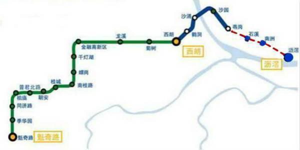 地铁广佛线二期月底开通 海珠到西朗只需8分钟图片
