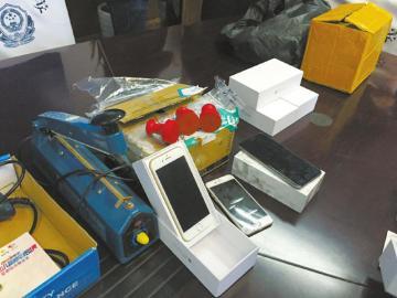 网购正品iPhone用35元模型机退货 男子骗局被抓
