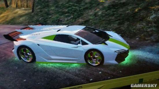 好看的喷漆 GTA5 好看汽车配色展示高清图片