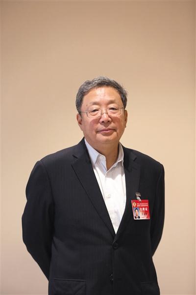 昨天,北京世界会议核心,北京市政协委员、原通州区委布告王云峰。新京报记者 侯少卿 摄