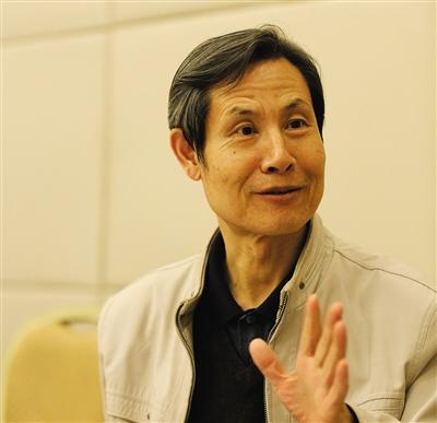 2016年1月22日,市政協委員孔繁峙。新京報記者 侯少卿 攝