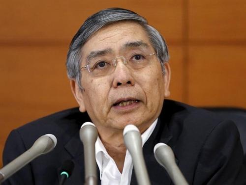 日本央行行长黑田东彦。