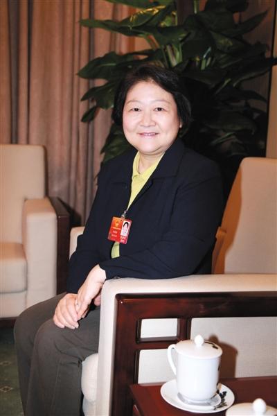 """在担任全国人大代表期间,孙晓梅被称为""""硬茬""""代表。"""