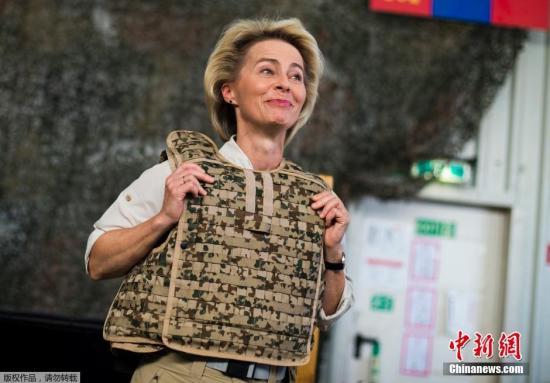 欧盟首位女主席冯德莱恩上任 誓言让欧洲成为冠军