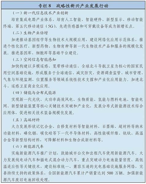 中华人民共和国国民经济和社会发展第十三个五