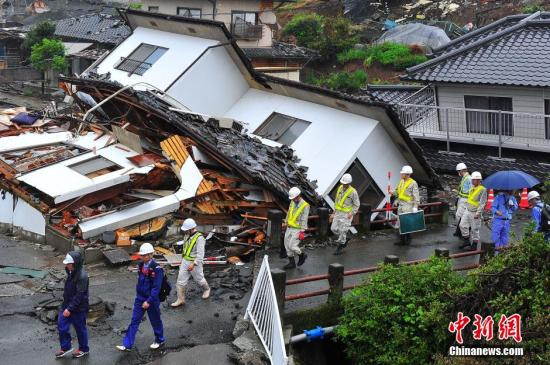 日本熊本5.2级地震:不会引发海啸 核电站无异常
