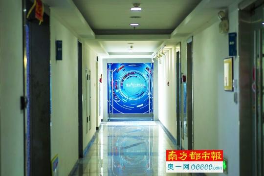 位于番禺一个产业园内的广州市慧宏企业管理咨询有限公司。