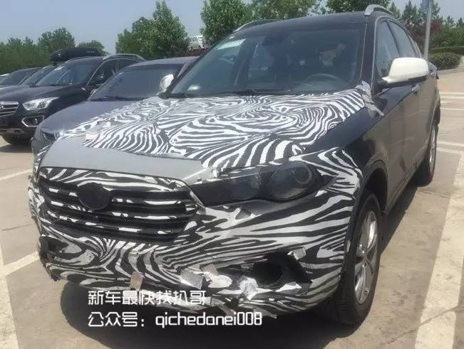奔腾X80中期改款车型曝光 下半年上市