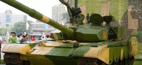 中国99式主战坦克