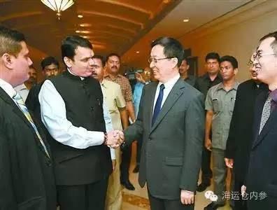 韩正在印度访问