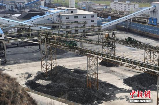 资料图:山西省一煤焦生产厂。中新社发 韦亮 摄
