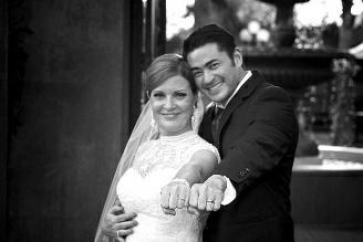 男子托马斯·比提与妻子