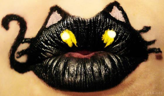 动物唇膏:嘴唇上的创意动物