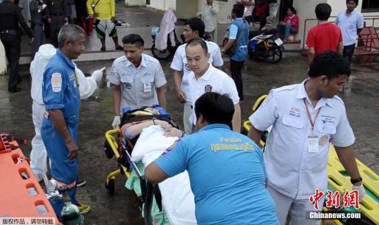 泰国普吉岛附近快艇相撞 两名中国游客遇难 中