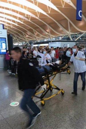 上海浦东机场T2航站楼发生爆炸 3人受伤送医
